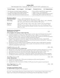Cover Letter Technical Support Specialist Resume Sr Technical