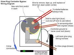 diagrams 840411 glow plug wiring diagram glow plug timer wiring 7.3 glow plug relay fuse at 7 3 Glow Plug Wiring Diagram