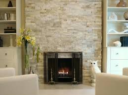 Modern Tiled Fireplace Surround Ideas Pinterest Stacked Stone