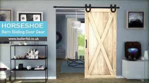 Barn Style Sliding Door Gear | HORSESHOE | Buller Ltd - YouTube