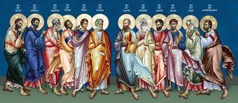 Αποτέλεσμα εικόνας για ευαγγέλιο 12 αποστόλων