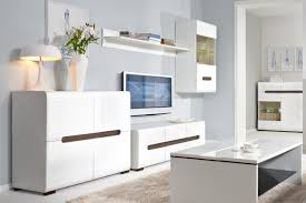 Living Room Sideboards And Cabinets White Gloss Sideboard Dresser Buffet 4 Door Cabinet Modern Living