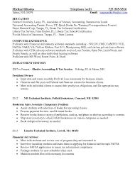 Sample School Counselor Resume Resume Work Template