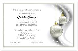 Corporate Holiday Party Invitations As Drop Dead Invitation Template