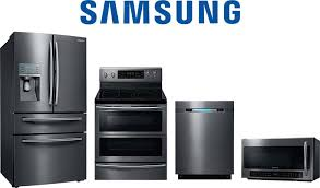 samsung kitchen appliance packages. samsung refrigerator, range, dishwasher and microwave kitchen appliance packages l