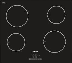 serie 4 4 zone ceramic induction hob pia611b68b black gl