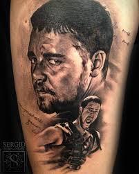 Gladiator Tattoo Best Tattoo Ideas Gallery