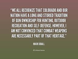 We all recognize that Colorado and our nation have a long and ... via Relatably.com