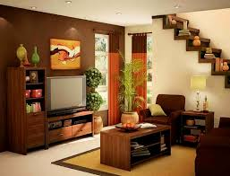 small house simple interior design living room home deco plans