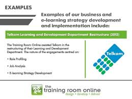 E Learning Strategy