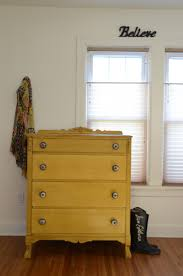 Painted Furniture Bedroom 17 Best Ideas About Yellow Painted Dressers On Pinterest Chevron