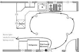 wiring diagram kitchen light circuit wiring diagram spotlights