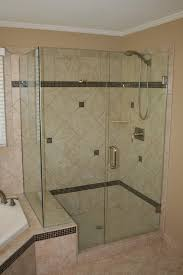 Glass Door : Awesome Semi Frameless Shower Door Bathtub Enclosures ...