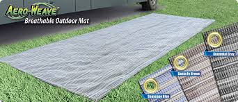 prest o fit offers a variety of outdoor rv mats and rugs that will accent your rv patio and awning area while helping to protect the inside of your rv