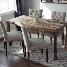 pleasing modern reclaimed wood dining table plus ana white emmerson parsons table modern reclaimed wood dining brooklyn modern rustic reclaimed wood