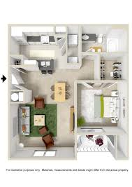 Single Bedroom Apartment Plans Subtle Futuristic Touch 3 Bedroom Apartment  Floor Plans 3d Single Bedroom Apartment