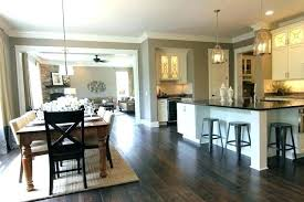 open kitchen dining room designs. Open Concept Kitchen Living Room And Dining Ideas Designs With O