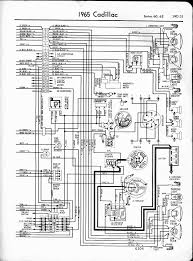 cadillac wiring diagrams 1957 1965 1965 series 60 62 right