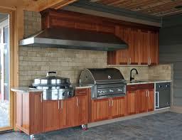 Building An Outdoor Kitchen With Wood Kitchen Decor Design Ideas