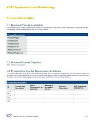 Business Process Requirements Document Template Stingerworld Co