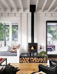 perfect wall house by rauser design wood burner fireplacewood