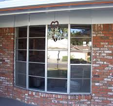 installing a replacement bow window