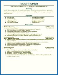 Warehouse Worker Objective For Resume Examples Objective For Resume Warehouse Entry Level Warehouse Worker Resume 56