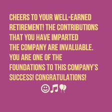 Retirement Wishes Quotes Fascinating 48 Happy Retirement Wishes WishesGreeting