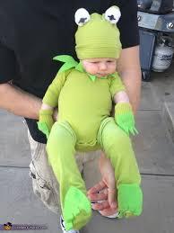 kermit the frog diy costume for babies