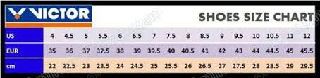 Victor Badminton Shoes Size Chart Need Guidance On Shoe Situation Badmintoncentral