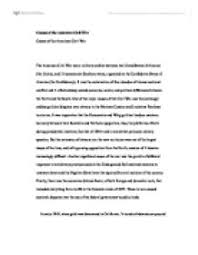 research paper on espionage in the us civil war a level history causes of the american civil war