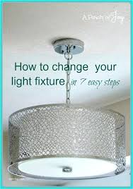 replace light bulbs in high ceiling chandelier how