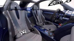 Yet another Pagani Zonda one-off special made; the MD ...