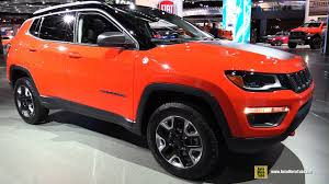2018 jeep compass trailhawk.  compass 2018 jeep compass trailhawk  exterior and interior walkaround 2017  detroit auto show throughout jeep compass trailhawk e