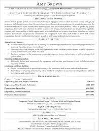 Resume Samples For Customer Service Representative Sample Of A Customer Service Resume Amazing Customer Service Resume