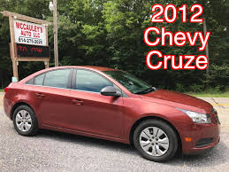 All Chevy chevy cars 2012 : 2012 Chevy Cruze - McCauley's Auto - Used Cars, Trucks, & SUV's