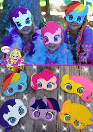 Pony Costume Ideas My Little Pony Mask Pinkie Pie Costume By Akidsdreamboutique