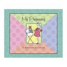 Calendars For Pregnancy My Pregnancy Keepsake Calendar