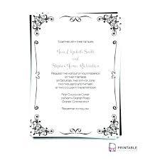 Wedding Invitation Templates Free Printable Weddi Invitation
