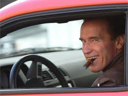 Arnold Schwarzenegger and Dodge Challenger SRT8 Photograph. Click on the photo to add a spot [Done] - arnold-schwarzenegger-and-dodge-challenger-gallery
