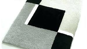 black and white aztec bathroom rug striped gray rugs round bath archives a most beautiful home furniture scenic ba