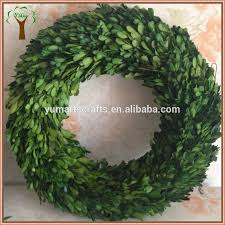 Preserving Tree Branches For Decoration Christmas Decoration Preserved Boxwood Wreath Buy Preserved