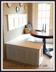 Kitchen Nook Board Batten Banquette I Love The Wall Piece Put Some Cork