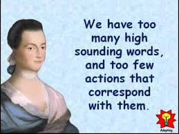 Abigail Adams Quotes Enchanting Creative Quotations From Abigail Adams For Nov 48 YouTube