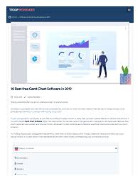 Free Gantt Chart Software For Students 10 Of The Best Free Gantt Chart Software In 2019 Authorstream
