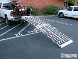 Baggers Tested | Discount Motorcycle Ramps | Baggers