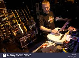 Guitar Technician Guitar Technician Lloyd Gilbert Of The Status Quo Rock Band Tunes