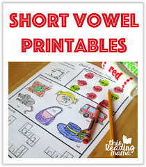 And other countries usually say the long vowel. Short Vowel Printables This Reading Mama