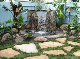 Small Picture Best 10 Back garden waterfalls ideas on Pinterest Garden