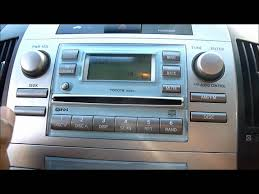 2005 TOYOTA COROLLA VERSO CD PLAYER/STEREO - YouTube
